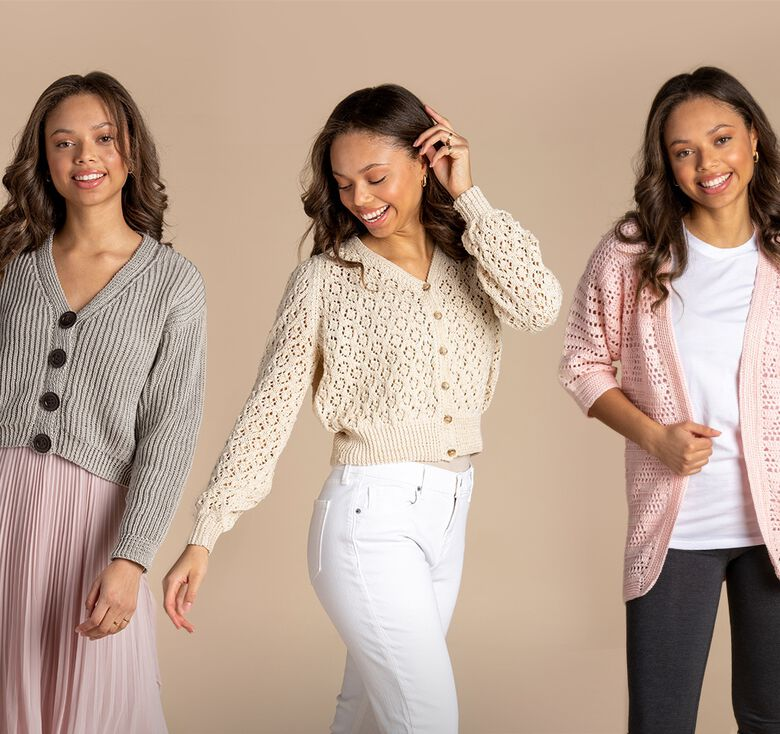 Patons boutique, Light and airy layers delicate drape.
