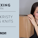 Yarn Unboxing! Caron x Pantone Bamboo With Kristy Glass Knits