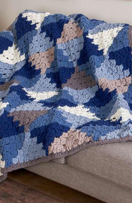 Bernat boutique, Blanket O'Go patterns.