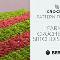 Learn to Crochet Star Stitch Dishcloth