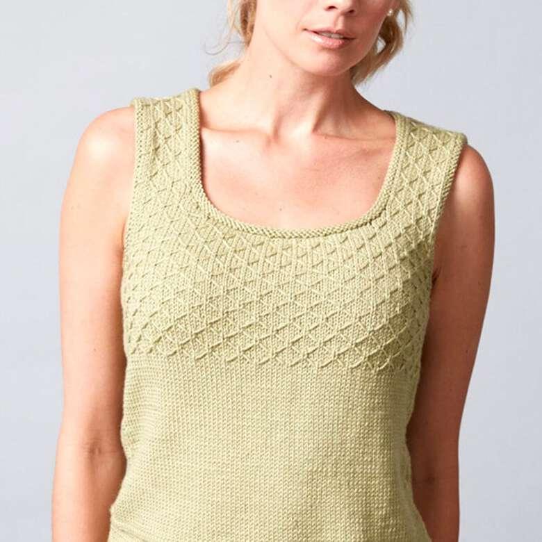 Serenity knit singlet