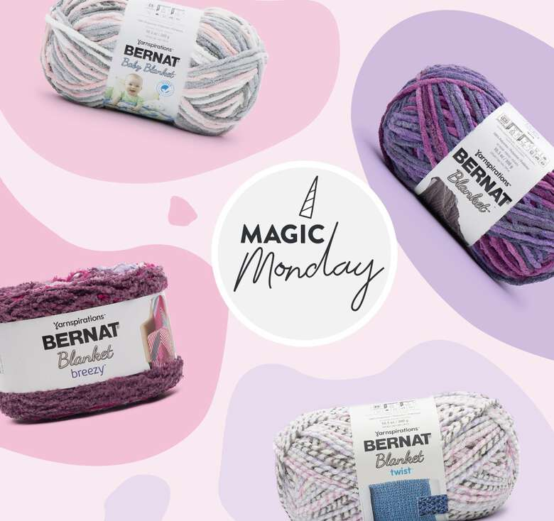 Today Only! Soft and fluffy savings on select Bernat Blanket yarns save 20% off
