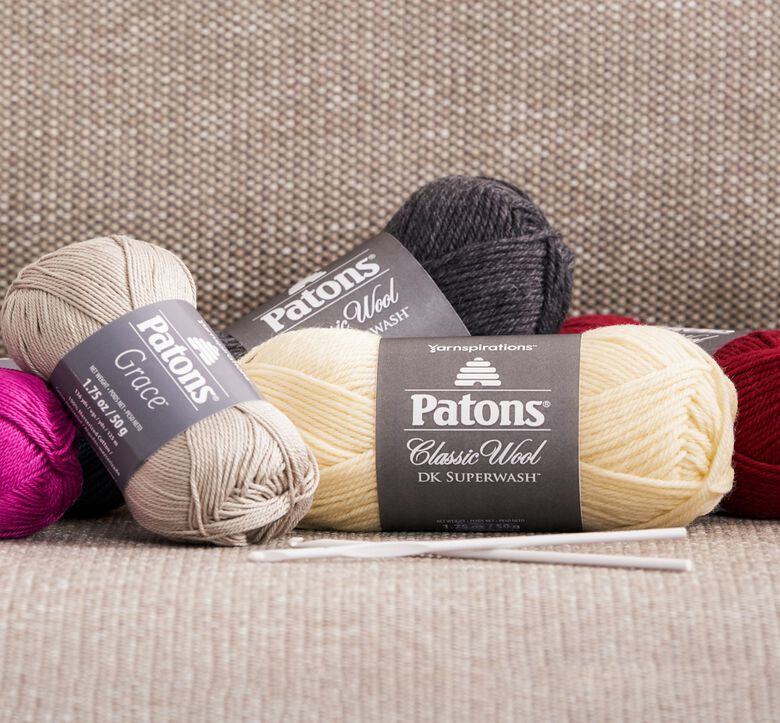 Patons boutique, Take our dependable yarn for a new spin