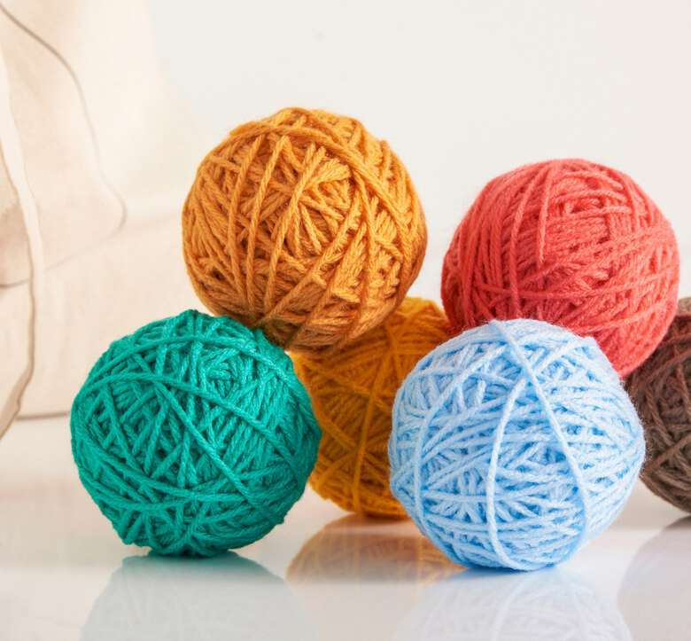 Red heart boutique yarns.