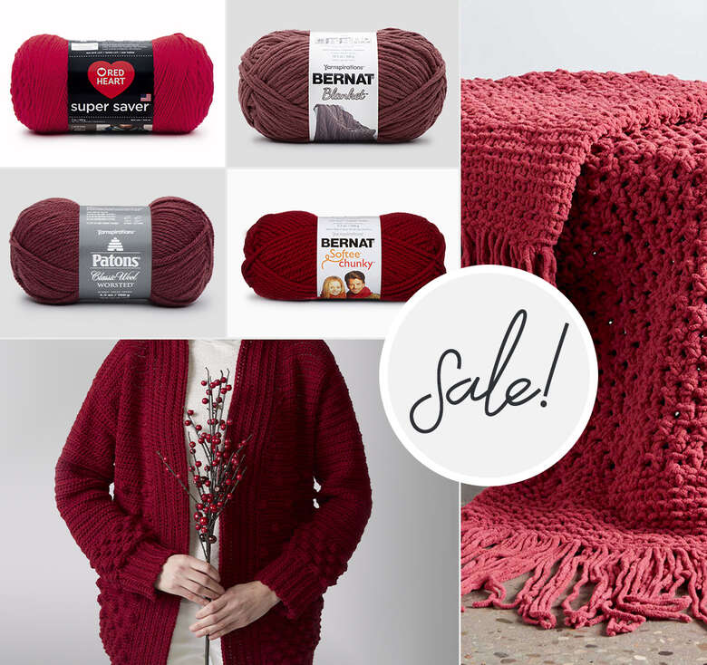 Pair things up for better savings. Buy one get 2nd 15% off select yarns. Some exclusions apply.