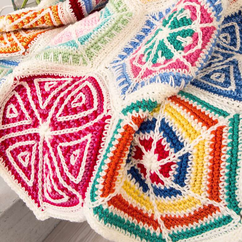Motif Madness, Miter and Granny Squares, it's all in the details.