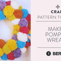 Make It: Pompom Wreath