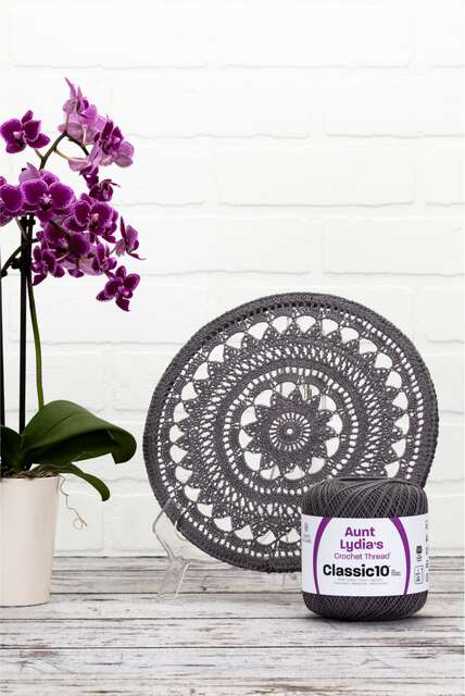 Aunt Lydias boutique. New Crochet Thread Classic 10 colors are on trend for home décor and more