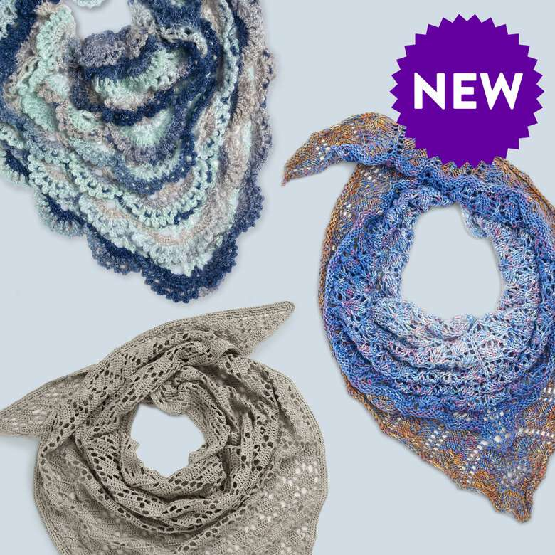 Wrap yourself up with he latest styles of shawls, wraps, and ponchos.