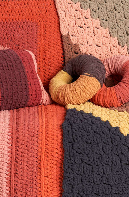 O'Go for Cozy! Two gorgeous trends gradient fades and geometric motifs - designed for O'Go!