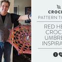 Red Heart Crochet Umbrella Inspiration