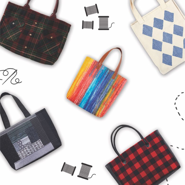 Coats & Clarks Tote-ally Awesome Totes sewing secrets