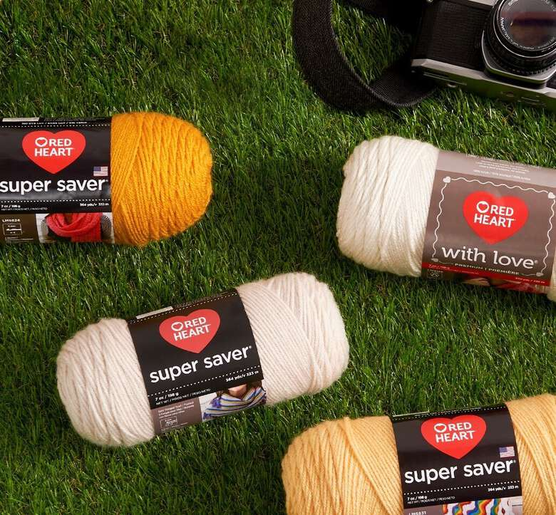 Red heart boutique yarns