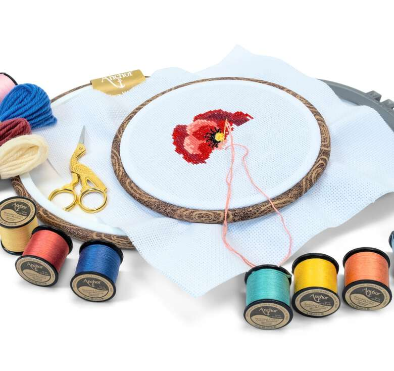 Anchor boutique, Beautiful quality floss, tapestry wool and more for hand embroidery.