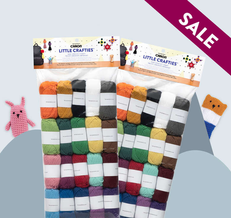 Caron Little Crafties buy 2 for $30 Limited time.