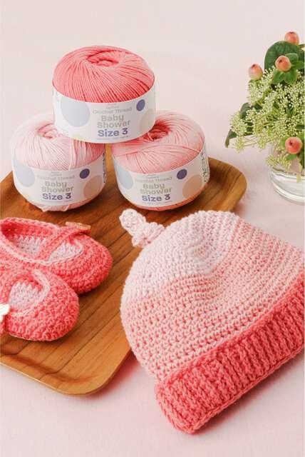 Aunt Lydias boutique. Introducing Aunt Lydia's Baby shower patterns.