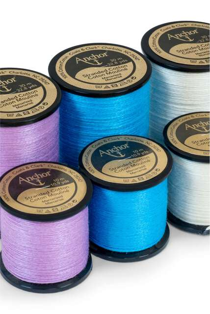 Anchor boutique, new Anchor floss on spools!