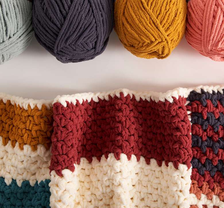 Bernat boutique, Yarns for every combo.
