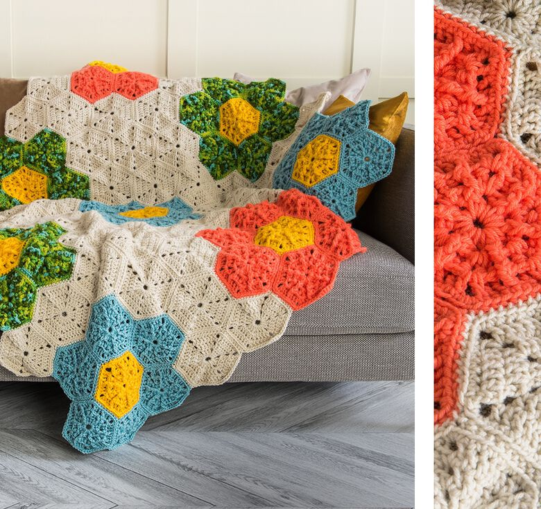Caron boutique to grow your craft with color blooms for Spring!