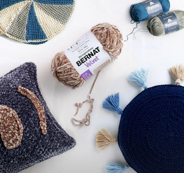 Bernat boutique Trend Spotting lookbook