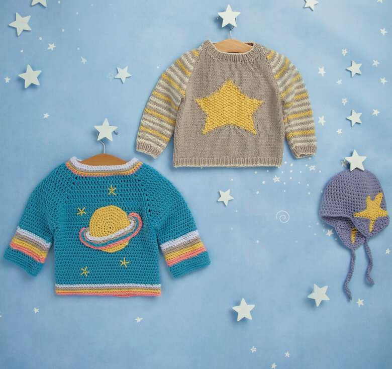 Bernat boutique, Blast off! To the best baby patterns in the galaxy!