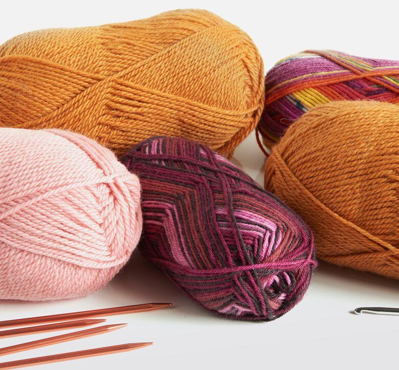Patons shop yarns