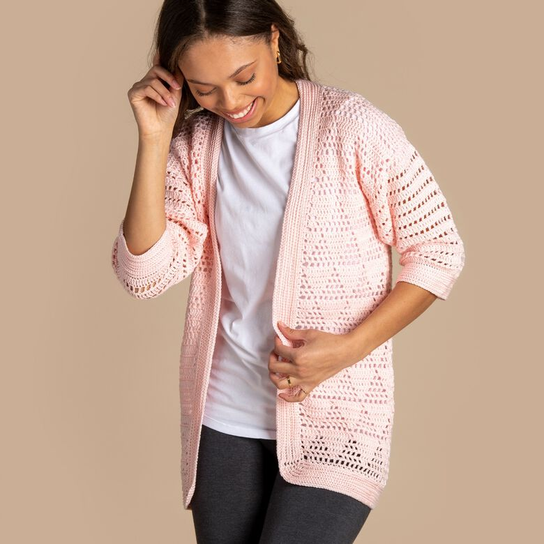 Patons boutique, Delicate Spring cover-ups, sweaters and cardigans.
