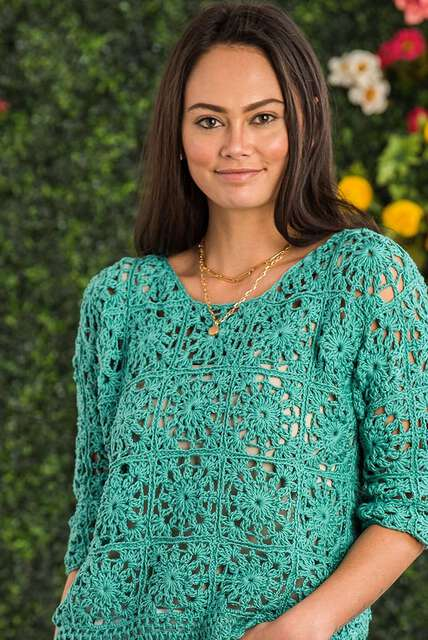 Holey Moley, breezy stitches with mesh, open weave, and airy patterns.
