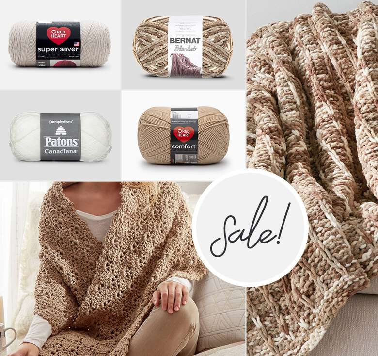 Buy one get 2nd 15% off select yarns and accessories. Some exclusions apply.