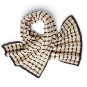 Go to Product: Patons Windowpane Knit Blanket Scarf in color