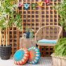 Bernat Full Circle Crochet Pillow in color  Thumbnail Main Image 3}