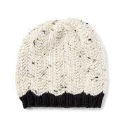 Bernat Wavy Knit Hat