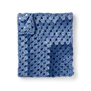 Bernat Granny Rectangle Crochet Baby Blanket