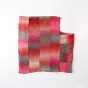 Red Heart Bargello Knit Poncho, 2XL/3XL