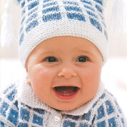 Go to Product: Patons Check Stitch Set, Cardigan - 0-6 mos in color