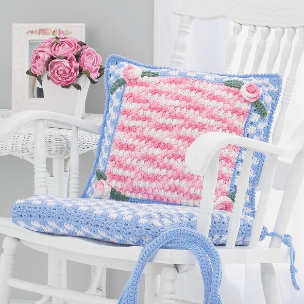 Lily Sugar'n Cream Chair Cushion
