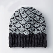 Patons Crochet Shadow Shells Hat