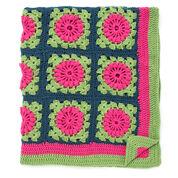 Caron Petal Pops Blanket