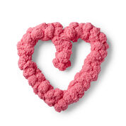 Go to Product: Red Heart Pom-dorable Heart Wreath in color
