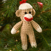 Go to Product: Red Heart Sock Monkey Ornament in color