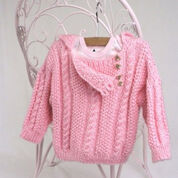 Go to Product: Caron Cabled Toddler Pullover, S in color