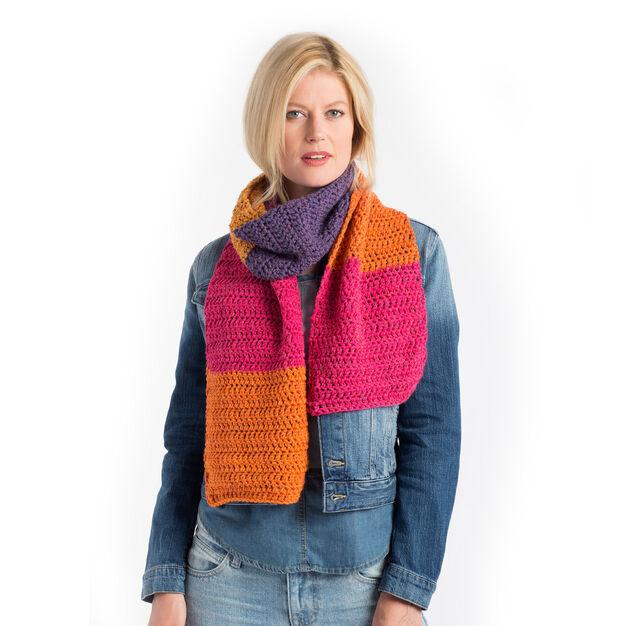 Caron Double Crochet Scarf Pattern Yarnspirations