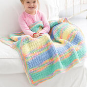 Red Heart Tropical Baby Blanket