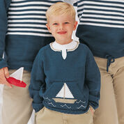 Go to Product: Patons From the Sea Pullovers, Boat - 4 yrs in color