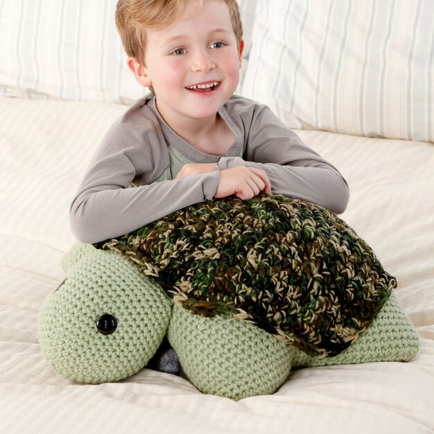 Red Heart Turtle Pillow Pal