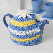 Go to Product: Lily Sugar'n Cream Daisy Motif Tea Cozy in color