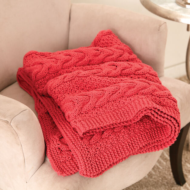 Bernat Cable Ready Blanket