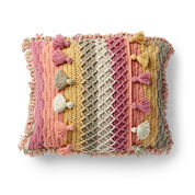 Go to Product: Caron Crochet Tasseled Pillow in color