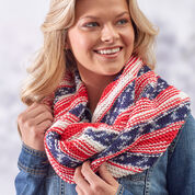 Go to Product: Red Heart American Pride Knit Cowl in color
