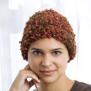 Red Heart Crochet Chemo Cloche, S/M
